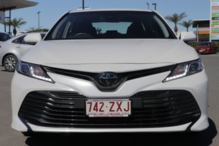 2019 Toyota Camry ASV70R Ascent Frosted White 6 Speed Sports Automatic Sedan