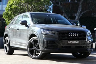 2017 Audi Q2 GA MY18 1.4 TFSI Design Nano Grey 7 Speed Auto S-Tronic Wagon.