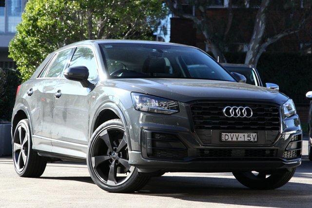Used Audi Q2 GA MY18 1.4 TFSI Design, 2017 Audi Q2 GA MY18 1.4 TFSI Design Nano Grey 7 Speed Auto S-Tronic Wagon