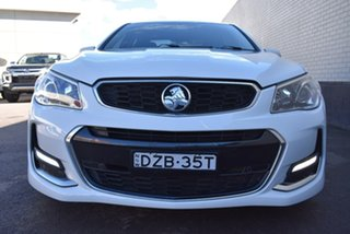 2016 Holden Commodore VF II MY16 SV6 White 6 Speed Sports Automatic Sedan