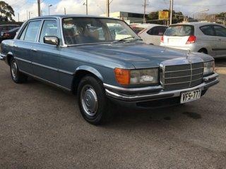 1979 Mercedes-Benz 450SEL W116 3 Speed Automatic Sedan.
