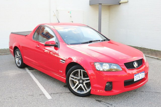 Used Holden Ute VE II MY12 SV6, 2011 Holden Ute VE II MY12 SV6 Red 6 Speed Manual Utility