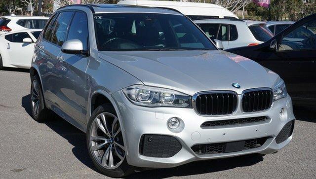 Used BMW X5 F15 xDrive35i, 2015 BMW X5 F15 xDrive35i Silver 8 Speed Sports Automatic Wagon