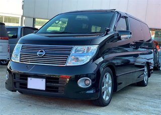 2009 Nissan Elgrand NE51 Highwaystar Black Automatic Wagon