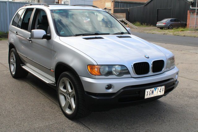 Used BMW X5 E53 3.0I West Footscray, 2001 BMW X5 E53 3.0I Silver 5 Speed Auto Steptronic Wagon