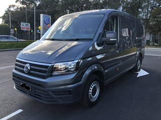 2020 Volkswagen Crafter SY1 MY20 35 MWB FWD TDI410 Grey 8 Speed Automatic Van