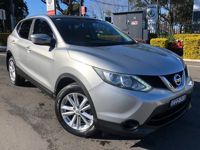 Used Nissan Qashqai J11 TS, 2015 Nissan Qashqai J11 TS Grey 1 Speed Constant Variable Wagon