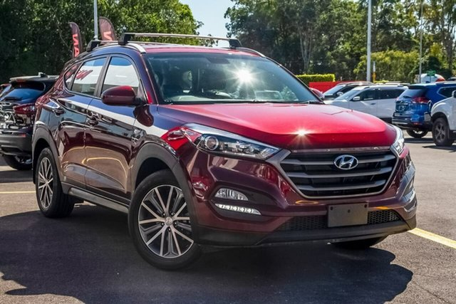 Used Hyundai Tucson TL Active X 2WD, 2015 Hyundai Tucson TL Active X 2WD Burgundy Red 6 Speed Sports Automatic Wagon
