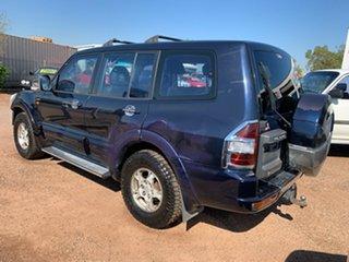 2002 Mitsubishi Pajero NM MY2002 GLS Blue 5 Speed Sports Automatic Wagon