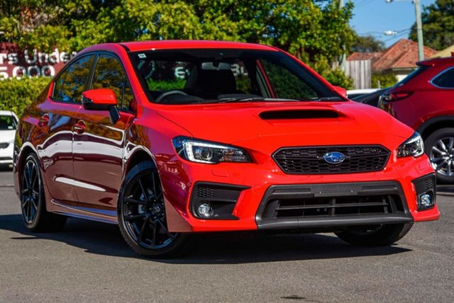 Used Subaru WRX V1 MY19 AWD, 2019 Subaru WRX V1 MY19 AWD Red 6 Speed Manual Sedan