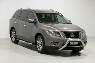2015 Nissan Pathfinder R52 MY15 ST Hybrid (4x2) Grey Continuous Variable Wagon
