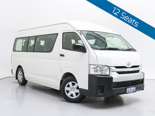 Used Toyota HiAce KDH223R MY16 Commuter, 2018 Toyota HiAce KDH223R MY16 Commuter White Bus
