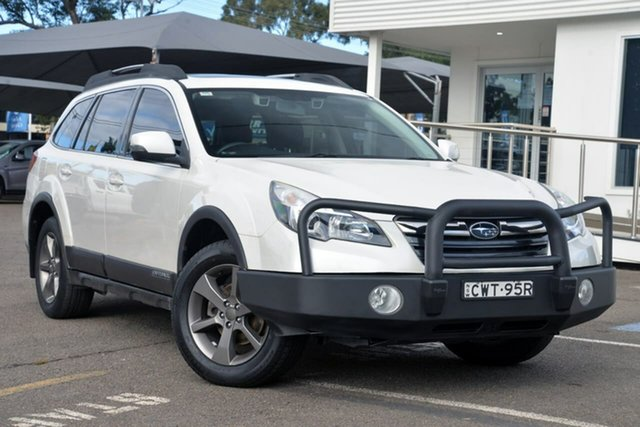 Used Subaru Outback B5A MY14 2.5i Lineartronic AWD Premium, 2014 Subaru Outback B5A MY14 2.5i Lineartronic AWD Premium White 6 Speed Constant Variable Wagon