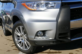 2015 Toyota Kluger GSU50R Grande 2WD Silver 6 Speed Sports Automatic Wagon.