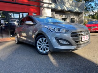 2015 Hyundai i30 GD3 Series II MY16 Active Grey 6 Speed Manual Hatchback.