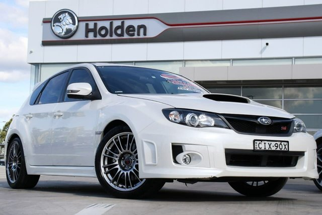 Used Subaru Impreza G3 MY12 WRX STi AWD Spec R, 2012 Subaru Impreza G3 MY12 WRX STi AWD Spec R Satin White Pearl 5 Speed Sports Automatic Hatchback