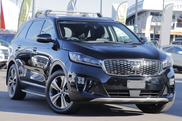 Used Kia Sorento UM MY18 GT-Line AWD, 2017 Kia Sorento UM MY18 GT-Line AWD Black 8 Speed Sports Automatic Wagon