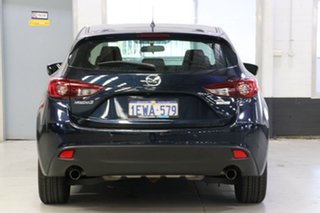 2015 Mazda 3 BM Maxx Blue 6 Speed Automatic Hatchback