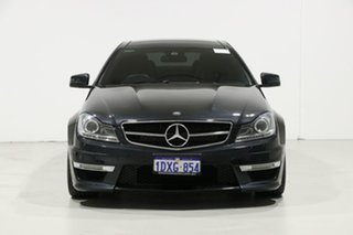 2012 Mercedes-Benz C63 W204 MY12 AMG Grey 7 Speed Automatic G-Tronic Coupe.