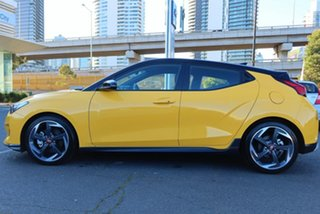 2020 Hyundai Veloster JS MY20 Turbo Coupe D-CT Yellow 7 Speed Sports Automatic Dual Clutch Hatchback