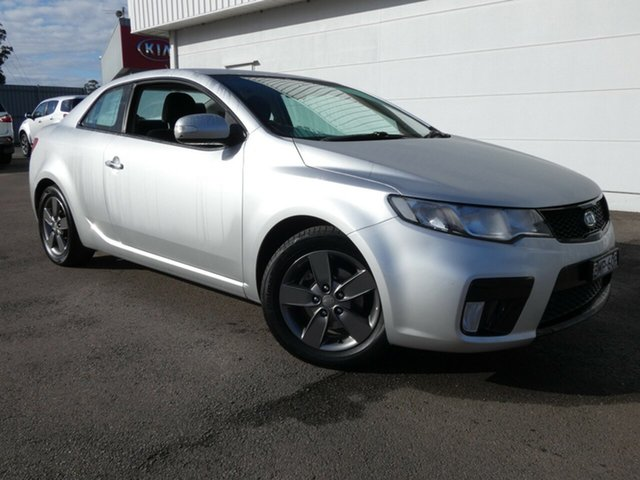 Used Kia Cerato TD MY10 Koup, 2010 Kia Cerato TD MY10 Koup Silver 5 Speed Manual Coupe