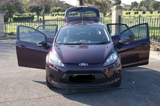 2011 Ford Fiesta WT CL Burgundy 6 Speed Automatic Hatchback