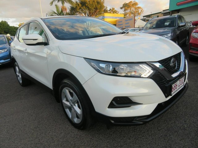 Used Nissan Qashqai J11 Series 2 ST X-tronic, 2018 Nissan Qashqai J11 Series 2 ST X-tronic White 1 Speed Constant Variable Wagon