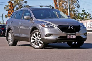 2014 Mazda CX-9 TB10A5 Grand Touring Activematic AWD Silver 6 Speed Sports Automatic Wagon.