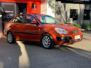 2006 Kia Rio JB Metallic Orange 4 Speed Automatic Sedan.