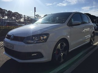 2013 Volkswagen Polo 6R MY14 GTI DSG White 7 Speed Sports Automatic Dual Clutch Hatchback.