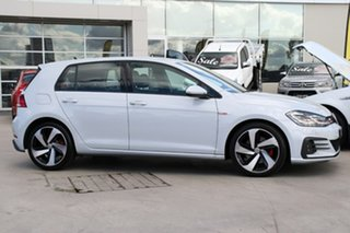 2018 Volkswagen Golf 7.5 MY18 GTI DSG White Silver 6 Speed Sports Automatic Dual Clutch Hatchback.