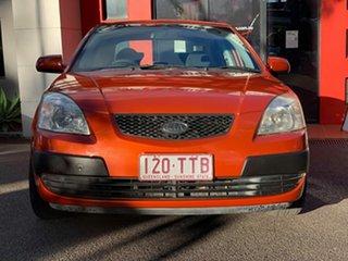 2006 Kia Rio JB Metallic Orange 4 Speed Automatic Sedan