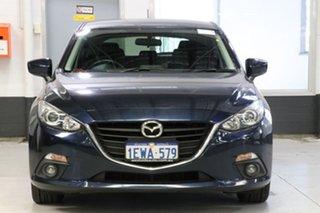 2015 Mazda 3 BM Maxx Blue 6 Speed Automatic Hatchback.