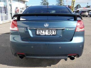 2011 Holden Commodore VE II SV6 Blue 6 Speed Manual Sedan