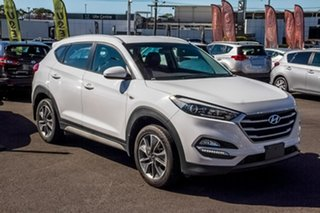 2018 Hyundai Tucson TL MY18 Active X 2WD White 6 Speed Sports Automatic Wagon.