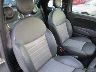 2013 Fiat 500 Series 1 Rock Star Dualogic Grey 5 Speed Sports Automatic Single Clutch Hatchback