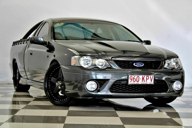 Used Ford Falcon BF MkII XR8, 2007 Ford Falcon BF MkII XR8 Black 6 Speed Manual Utility