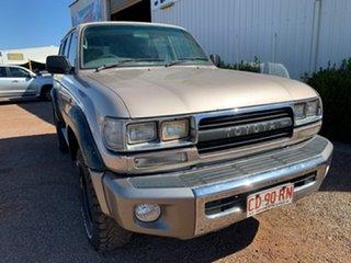 1991 Toyota Landcruiser HZJ80R Gold 5 Speed Manual Wagon.