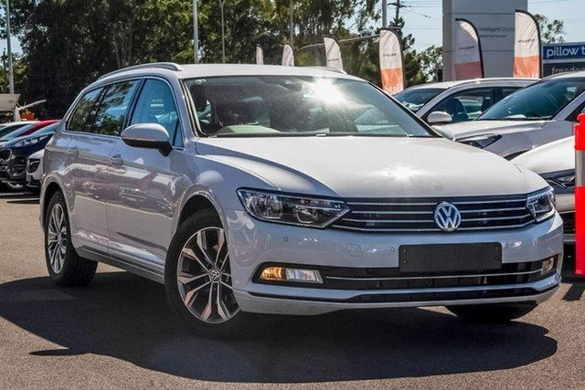 Used Volkswagen Passat 3C (B8) MY18 132TSI DSG, 2018 Volkswagen Passat 3C (B8) MY18 132TSI DSG White 7 Speed Sports Automatic Dual Clutch Wagon