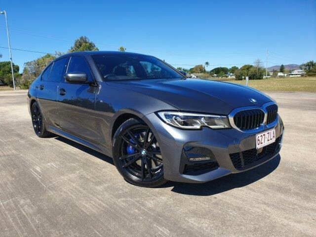 Used BMW 3 Series G20 330i Steptronic M Sport, 2019 BMW 3 Series G20 330i Steptronic M Sport Grey 8 Speed Sports Automatic Sedan