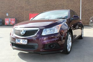 2012 Holden Cruze JH MY12 Equipe Maroon 6 Speed Automatic Sedan