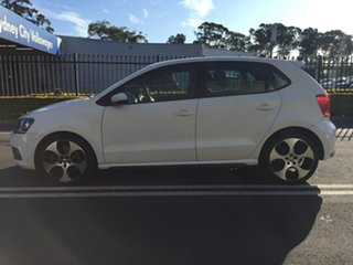 2013 Volkswagen Polo 6R MY14 GTI DSG White 7 Speed Sports Automatic Dual Clutch Hatchback