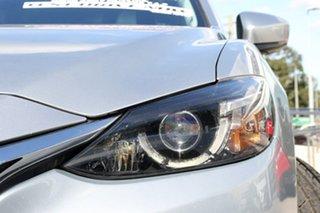 2016 Mazda 6 GL1021 GT SKYACTIV-Drive Silver 6 Speed Sports Automatic Sedan