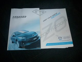 2012 Mazda 3 BL10F2 MY13 Maxx Activematic Sport Silver 5 Speed Sports Automatic Hatchback.