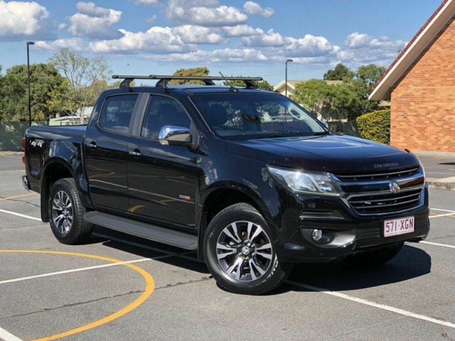 Used Holden Colorado RG MY17 LTZ Pickup Crew Cab, 2016 Holden Colorado RG MY17 LTZ Pickup Crew Cab Black 6 Speed Sports Automatic Utility