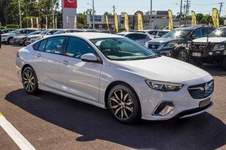 2018 Holden Commodore ZB MY18 RS Liftback White 9 Speed Sports Automatic Liftback.