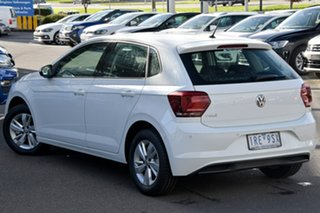 2020 Volkswagen Polo AW MY20 85TSI Comfortline White 6 Speed Manual Hatchback.