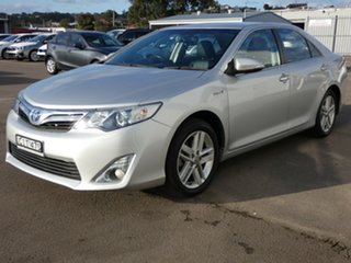 2012 Toyota Camry AVV50R Hybrid HL Silver 1 Speed Constant Variable Sedan.