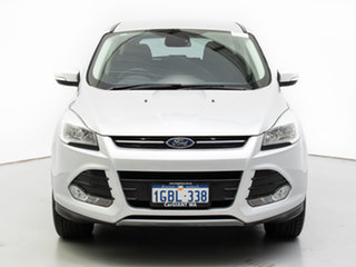2016 Ford Kuga TF MK 2 Ambiente (FWD) Silver 6 Speed Automatic Wagon.