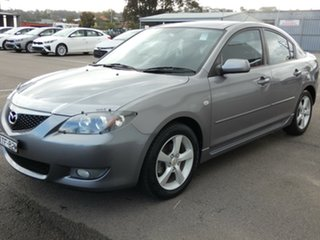 2005 Mazda 3 BK10F1 Maxx Sport Silver 5 Speed Manual Sedan